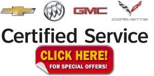 GM Chevy GMC Buick Service Offers Specials
