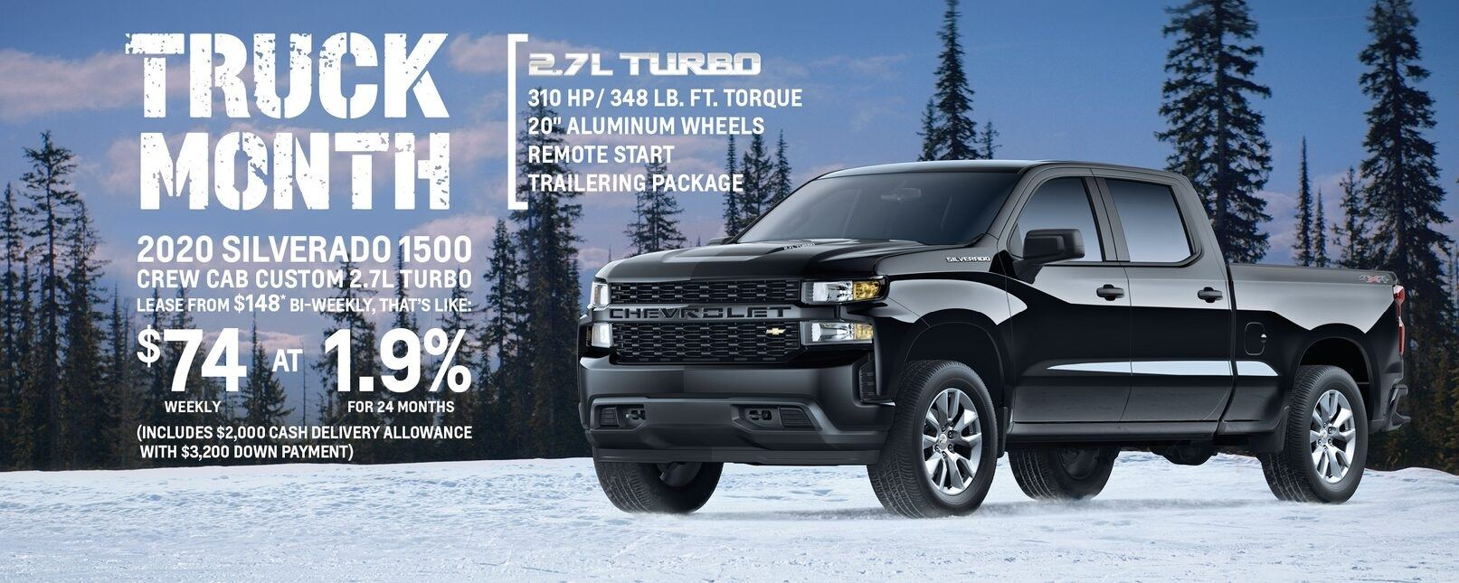 Chevy January Specials